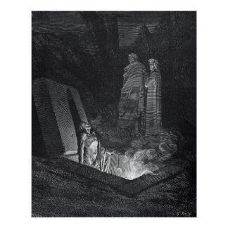 Dante's Inferno Poster by Gustave Dore