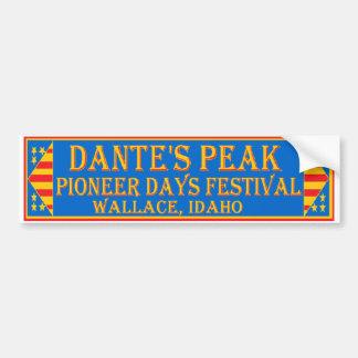 Dante's Peak Pioneer Days Bumper Sticker