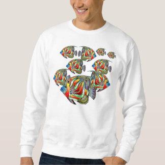 Dantes Sea Angelfish Sweatshirt