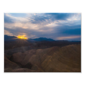 Dante's View In Death Valley Photo Print