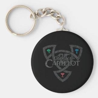 DAoC Knot Button Keychain
