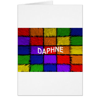 DAPHNE CARD