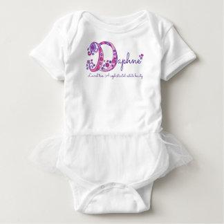 Daphne girls name & meaning D monogram shirt