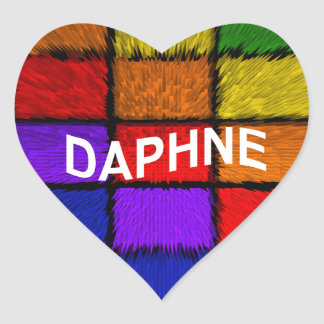 DAPHNE HEART STICKER
