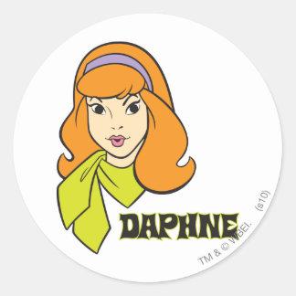 Daphne Pose 21 Round Sticker
