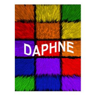 DAPHNE POSTCARD