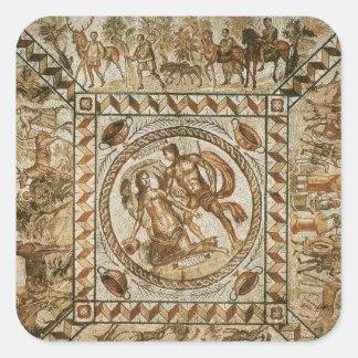 Daphne pursued by Apollo Square Sticker