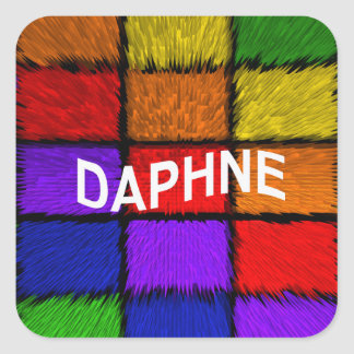DAPHNE SQUARE STICKER