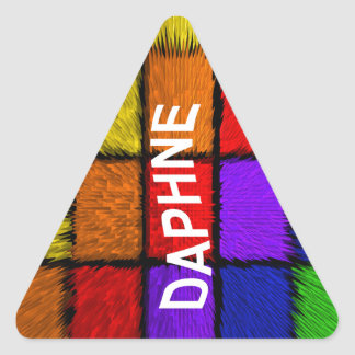 DAPHNE TRIANGLE STICKER