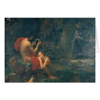 Daphnis and Chloe, 1824-25 Card