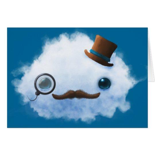 Dapper Cloud Greeting Card