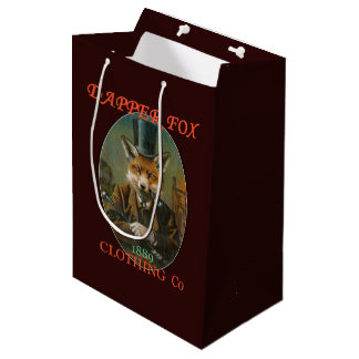 Dapper Fox Clothing Gift Bag