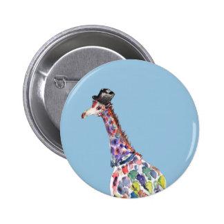 Dapper Giraffe 6 Cm Round Badge