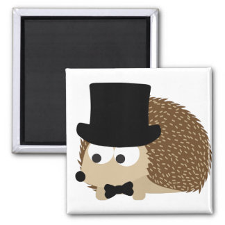 Dapper Hedgehog Magnet