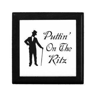 Dapper Man Puttin On The Ritz Gift Box