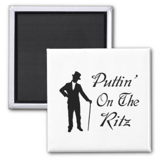 Dapper Man Puttin On The Ritz Magnet