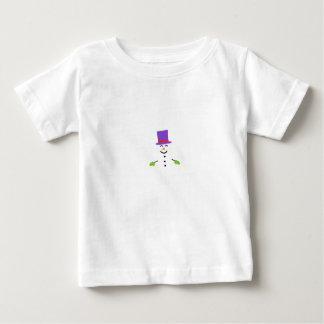 DAPPER SNOWMAN BABY T-Shirt