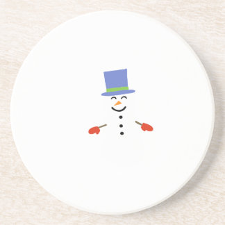 DAPPER SNOWMAN COASTER