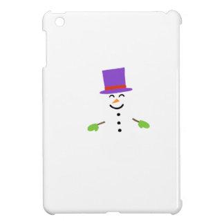 DAPPER SNOWMAN iPad MINI CASES