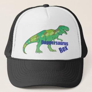 Dappersaurus Rex Trucker Hat