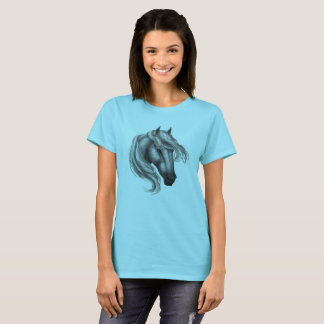 Dapple Grey Horse Head T-Shirt