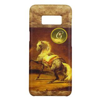 DAPPLED GREY HORSE MONOGRAM Case-Mate SAMSUNG GALAXY S8 CASE