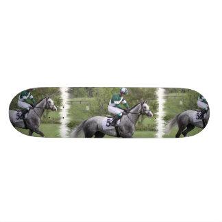 Dappled Grey Race Horse Skateboard