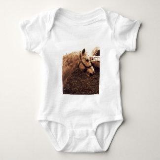 Dappled Horse and Bus Baby Bodysuit