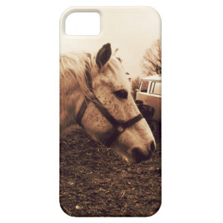 Dappled Horse and Bus Barely There iPhone 5 Case
