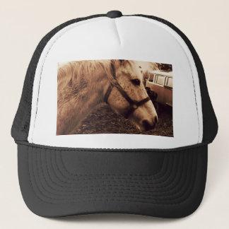 Dappled Horse and Bus Trucker Hat