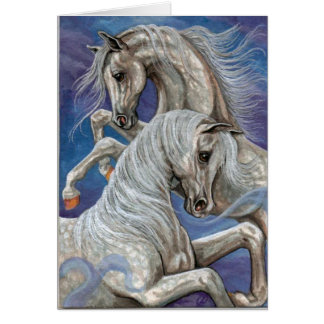 DAPPLED HORSES Note Card