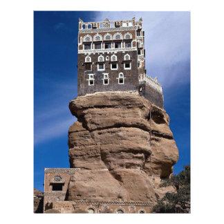 Dar Al Hajjar (The Palace of the Rock), Yemen Flyer