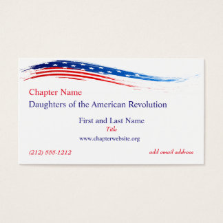 DAR Chapter Business Card Updated