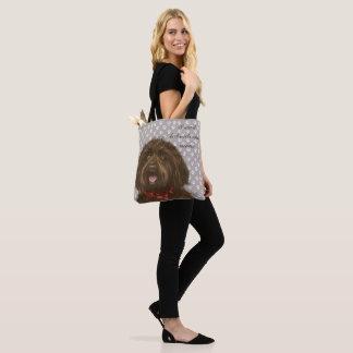 Darcey's Proud Labradoodle mum <3 Tote Bag