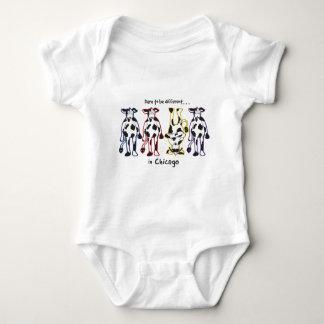 DARE-CHICAGO BABY BODYSUIT