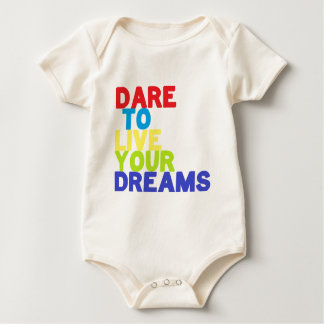 Dare quote baby bodysuit