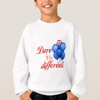 DARE TO BE DIFFERENT - BALLOONS SWEATSHIRT