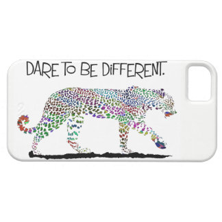 """Dare to be different""  Iphone case"