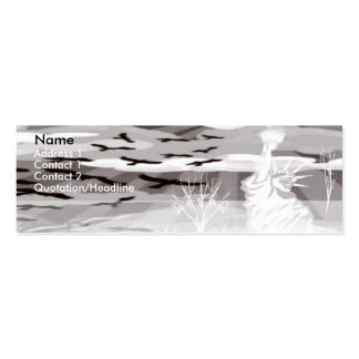 Dare To Be Different Pack Of Skinny Business Cards