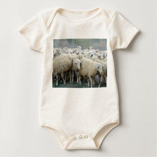 Dare to be different! Sheepdog Saying ... Baby Bodysuit