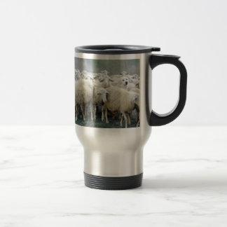 Dare to be different! Sheepdog Saying ... Stainless Steel Travel Mug