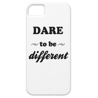 Dare To Be Differernt Barely There iPhone 5 Case
