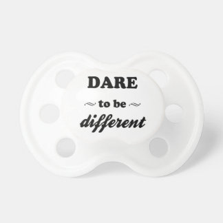 Dare To Be Differernt Dummy