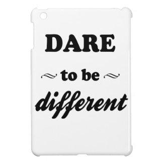 Dare To Be Differernt iPad Mini Cover