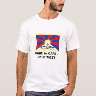 DARE to CARE2 - HELP TIBET T-Shirt