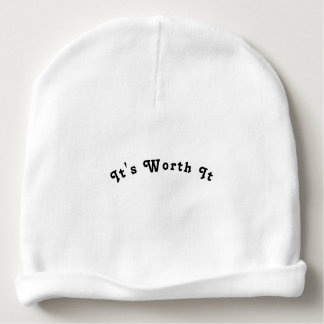 Dare to dream its worth it baby beanie