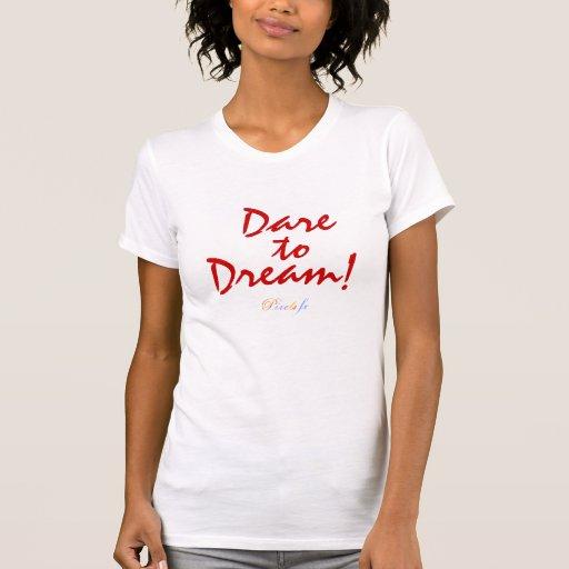 Dare to Dream : Ladies Perf. Micro- Fiber Singlet T Shirt