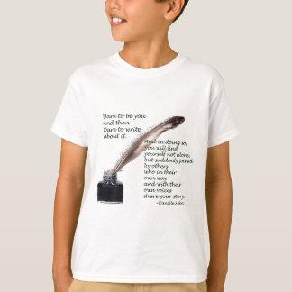 Dare to write T-Shirt