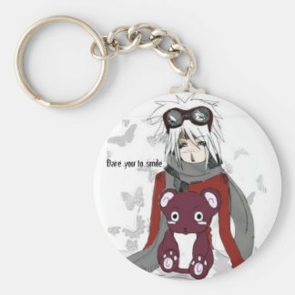 Dare you to smile...Keychain! Key Ring
