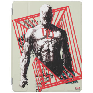 Daredevil Abstract Sketch iPad Cover